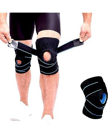 0fd162645f Knee brace for arthritis, ACL and meniscus tear,Open-Patella Stabiliser,  Adjustable
