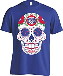 America s Finest Apparel Chicago Northside Baseball Sugar Skull - Men s 7a1931dbf