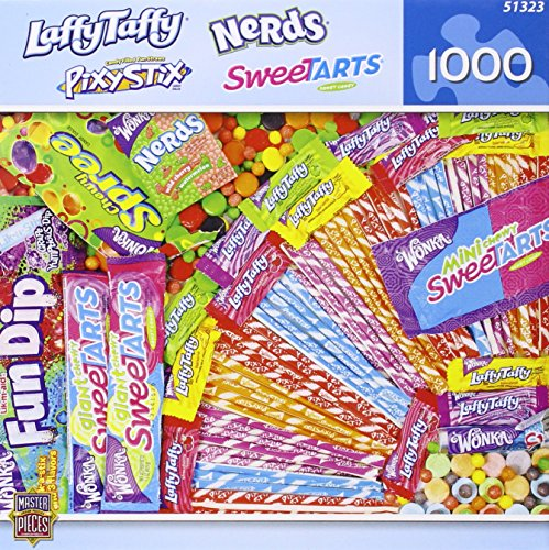 MasterPieces Candy Brands Wonka Candies Jigsaw Puzzle, 1000-Piece