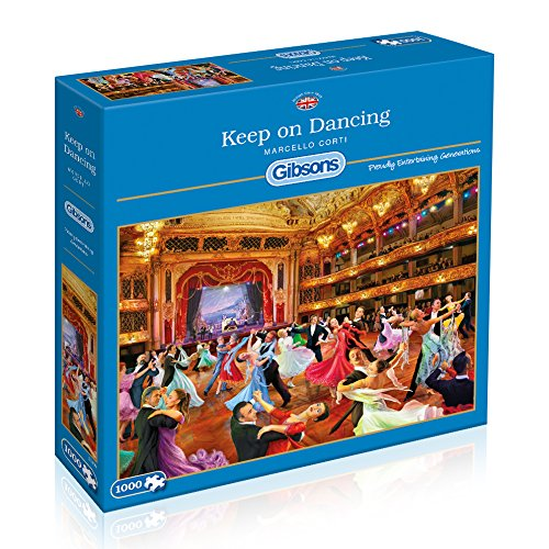 Price comparison product image Gibsons Keep on Dancing - Marcello 1000 Piece Jigsaw Puzzle