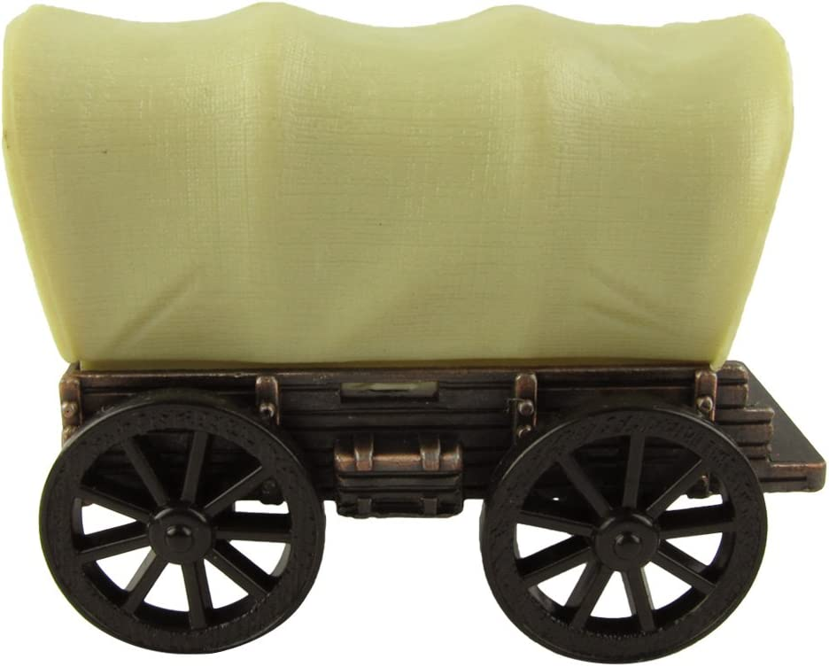 Treasure Gurus Miniature Covered Wagon Die Cast Novelty Toy Bronze Pencil Sharpener PA Souvenir
