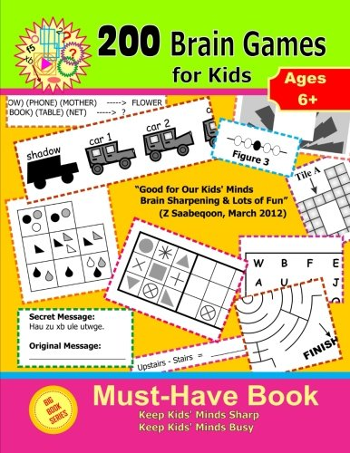 200 Brain Games for Kids ( Big Book Series )