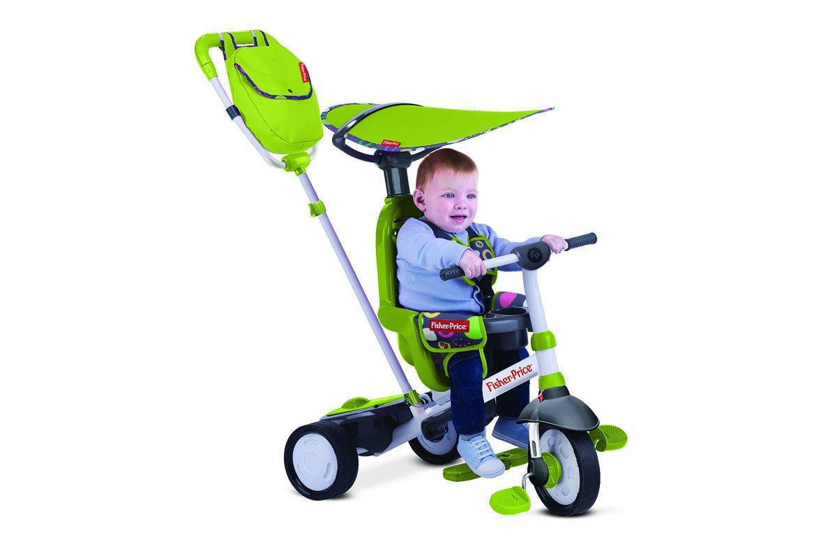 conveniente Fisher-Price Charisma Grun Kind Dreirad Dreirad Dreirad Baby Rutschfahrzeug Kinderwagen  venta al por mayor barato