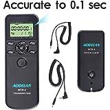 AODELAN WTR2 Camera Wireless Shutter Release Timer Remote Controlfor for Canon 80D/77D/70D/60D/800D/200D,7D series, 5D series,T7,T7i, T6, T6i, T6s,T5i, T4i, T3i, t3, TC-80N3 & RS-60