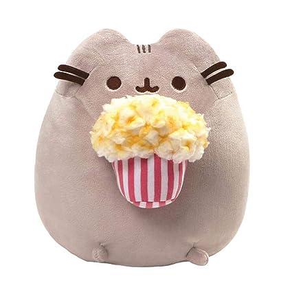 Amazon.com  GUND Pusheen Snackables Popcorn Cat Plush Stuffed Animal ... 872a35947e77f