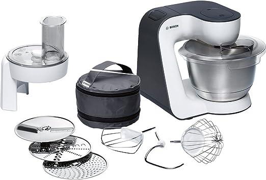 Bosch MUM52110 - Robot de cocina, negro y blanco: Amazon.es: Hogar