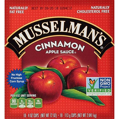 Musselman's Cinnamon Apple Sauce Cups, 4 Ounce by Musselmans (Image #3)