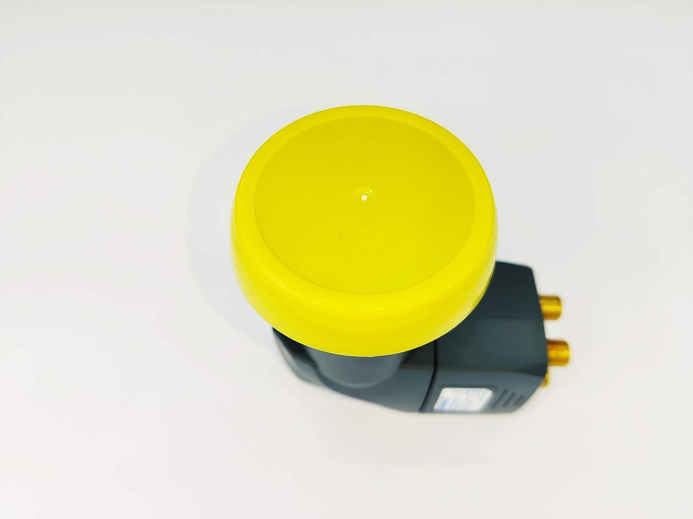 UHD Full HD LTE-Filter digitales Satelliten universal LNB f/ür Multischalterbetrieb inkl Wetterschutzgeh/äuse und F-Steckern f/ür besten Satempfang in HD Humax Gold Quattro LNB 4K und 8K