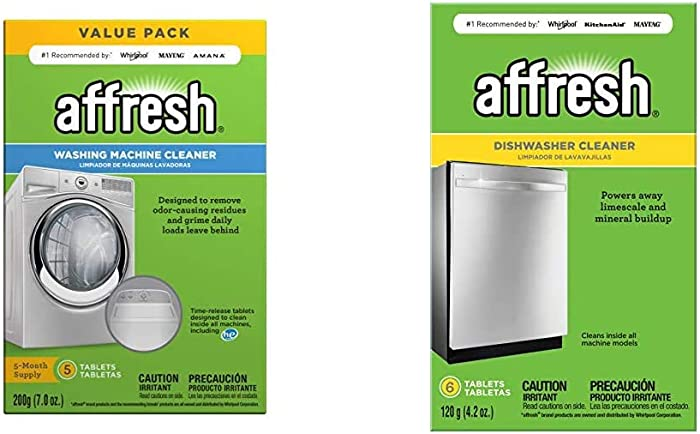 The Best Affresh Washing Machine Cleaner 5 Tablets