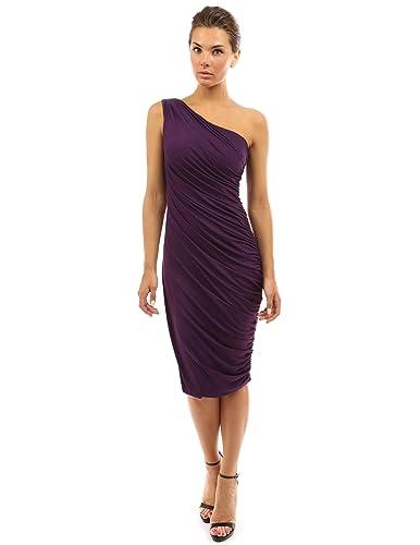 PattyBoutik Women's One Shoulder Cocktail Dress