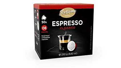 Fortisimo ESPRESSO CLASSICO (one pack): Amazon.com: Grocery & Gourmet Food