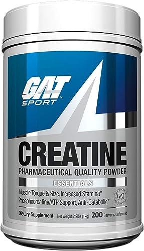 GAT Sport Creatine Monohydrate Powder, 1000 grams