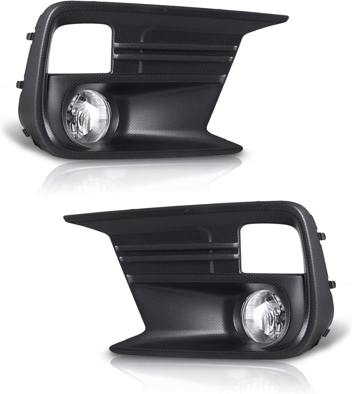 Fog Lights for 2018-2019 Subaru WRX//WRX STI 2PCS OEM Replacement Fog Lamps With Clear Lens AUTOWIKI