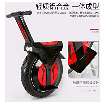 Amazon.com: SEADOSHOPPING Unicícleo electrónico, bicicleta ...