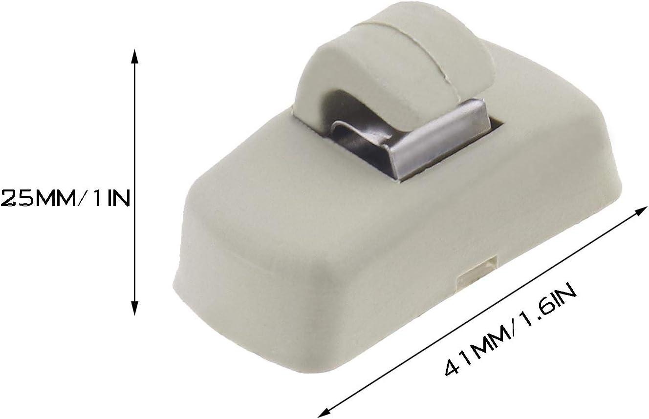 4 St/ück Sonnenblende-Clip innen Ersatz kompatibel f/ür Auto Transporter T4 T5 T5.1 T6