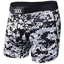 Black/White Vibe Artic Camo Modern Fit Boxer by Saxx Underwear Co