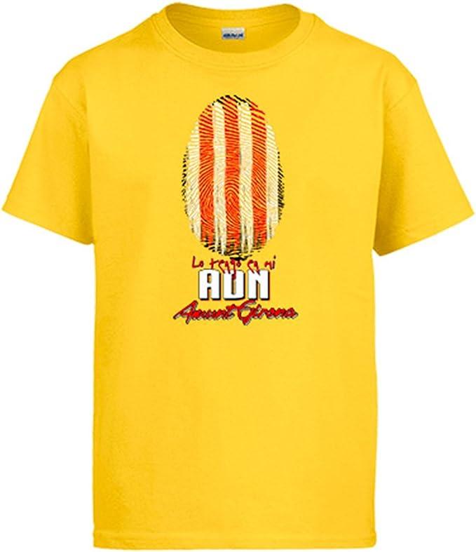 Diver Camisetas Camiseta lo Tengo en mi ADN Girona fútbol: Amazon.es: Ropa y accesorios