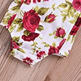 Newborn Kids Baby Girls Clothes Floral Outfits Set