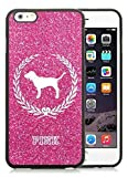 Iphone 6 Plus Cases Custom Design Victoria's Secret Love Pink 08 Cell Phone Tpu Cover Case for Iphone 6 Plus 5.5 Inch Black