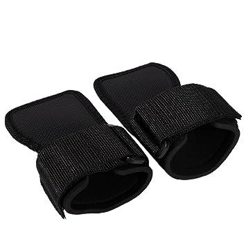 1 par deporte guantes de entrenamiento con muñequera para levantamiento de pesas, gimnasio ejercicio, entrenamiento con pesas: Amazon.es: Deportes y aire ...