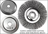 Curtis 2000/3000 Premium Cutting Wheel and Deburring Brush Combo
