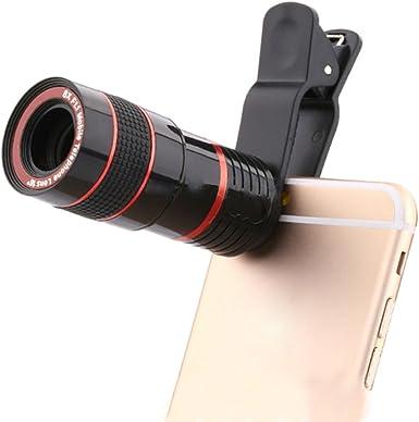 Samsung Galaxy S3 MINI i8190 8 x zoom óptico telescopio lente de cámara universal para smartphone: Amazon.es: Electrónica