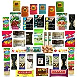 Healthy Snack Assortment, Variety of Paleo Snacks and Treats Box, Perfect for College or Military Care Packages, Packed School Lunches, Individually Wrapped (40 Count) Pack