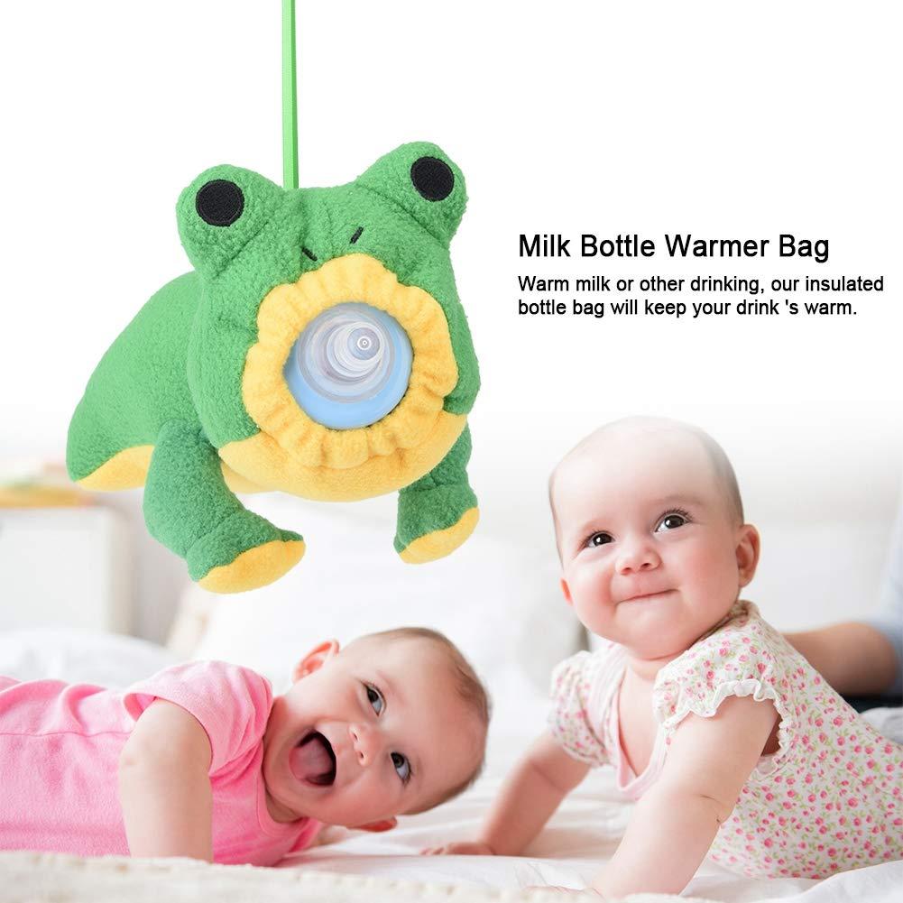 Baby Thermische F/ütterung Tasche Baby Milchflasche Warm Halten Pl/üsch Beutel Abdeckung Thermische F/ütterung Tasche f/ür Kinder