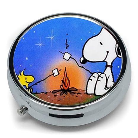 Custom de perro Snoopy caliente Metal redondo de la tableta ...