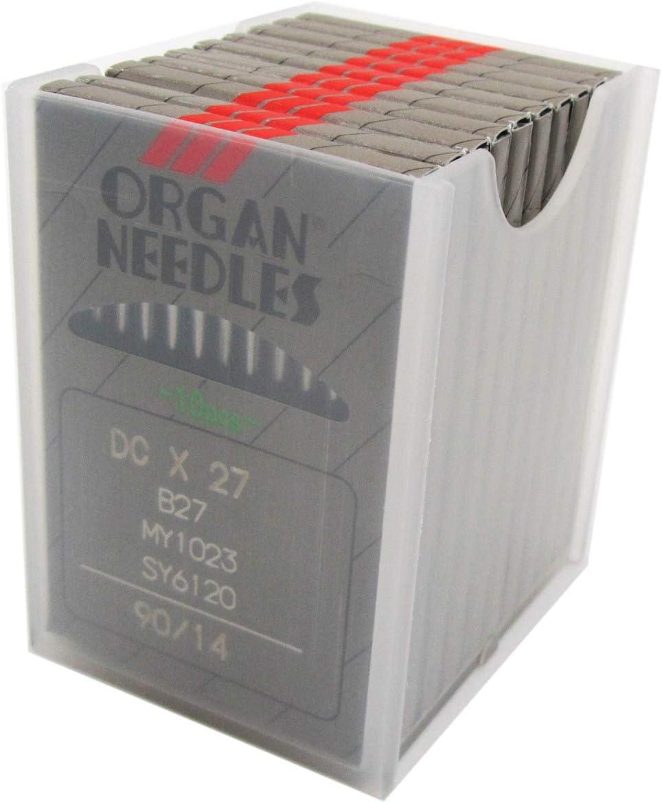 10 ORGAN  B-27 SIZE#16//100 OVERLOCK SERGER  NEEDLES DCX27