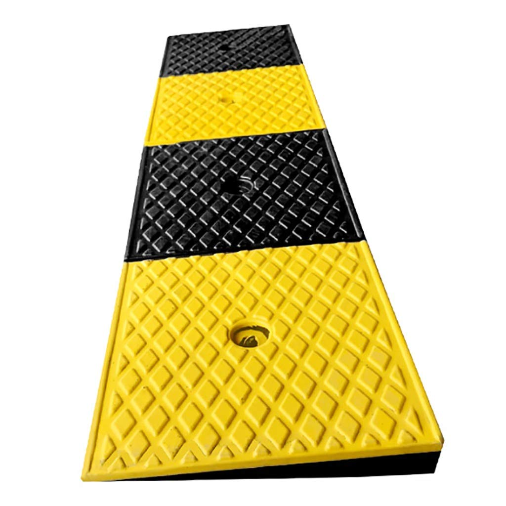 Heavy Duty Rubber Curb Ramps, Wheel Assist Ramp, L99*W24.8*H4cm SPLY