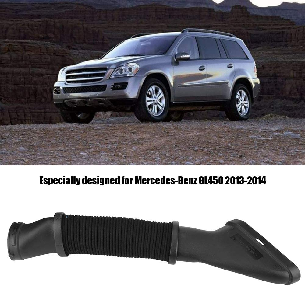 Terisass Air Intake Duct Car Vehicle Air Intake Duct Hose Tube Polypropylene Fit for Mercedes-Benz GL450 GL550 GL63 GLE63 GLS550 GLS63 ML550 ML63 2013-2017 2780902482 Right