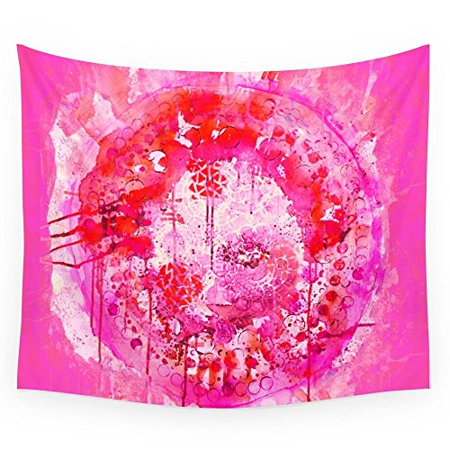 Society6 Magenta Mandala Wall Tapestry Large: 88