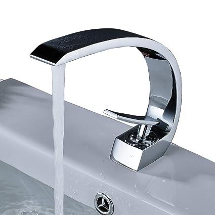 Rozin Creative Design Bathroom Sink Faucet Single Handle Mixer Tap ...