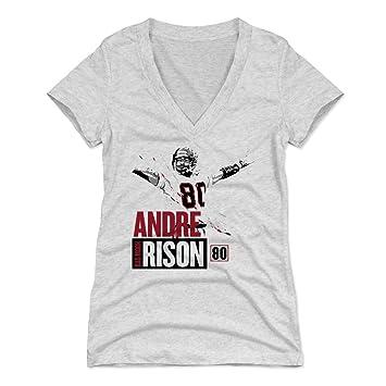 500 nivel de Andre Rison camiseta para mujer – VINTAGE Atlanta fútbol ventilador Gear y deportes