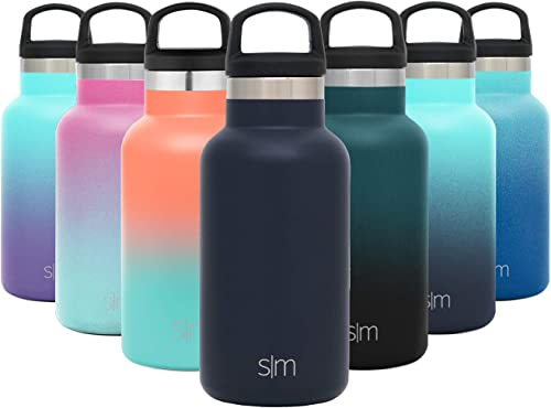 Simple Modern 12oz Ascent Water Bottle - Best Lightweight Reusable Water Bottle