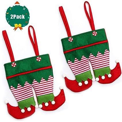 SevenMy 2 Bolsas de Regalo Grandes de Navidad para Papá Noel ...