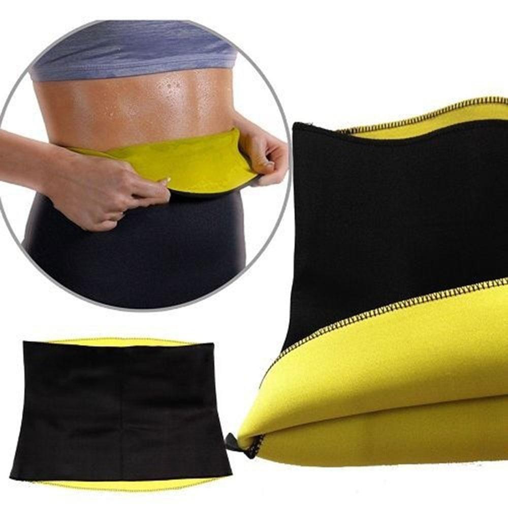 Faja reductora de neopreno Pawaca para entrenamiento, para sudar, tonificante, para bajar de peso, para hombres y mujeres