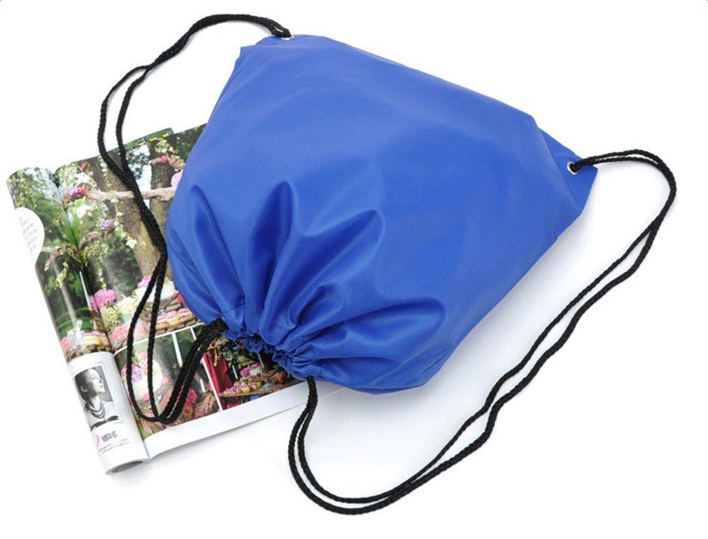 Yonger Drawstring Bag Pack Oxford cloth Folding Travel Sport Storage Drawstring Backpack Sack Bag Tote Bags by Yonger (Image #7)