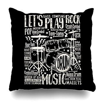 Amazon.com: DIYCow Fundas de almohada, a cuadros, diseño de ...