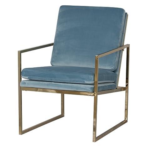 Sedie per soggiorno,Sedia di velluto,Poltrone per camera da letto ...