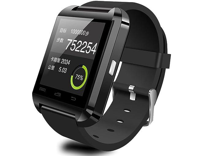 Smart Watch Monitor de Actividad Android Bluetooth U8  Amazon.com.mx   Electrónicos 8f5972aa983