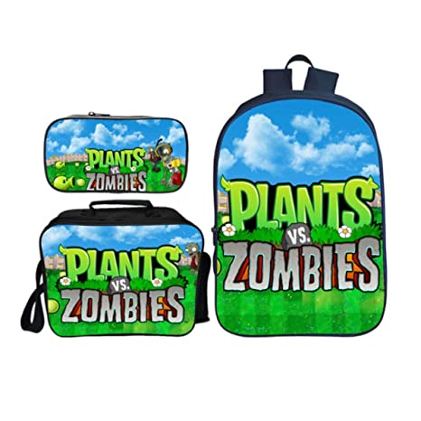 KIDBAG Mochilas Infantiles Plants Vs Zombies Juego De 3 ...