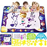 Smarkids Aqua Magic Doodle Mat 28 x 40 Inches Large Water Doodle Mat Coloring Water Drawing Mat Painting Writing Doodle Board