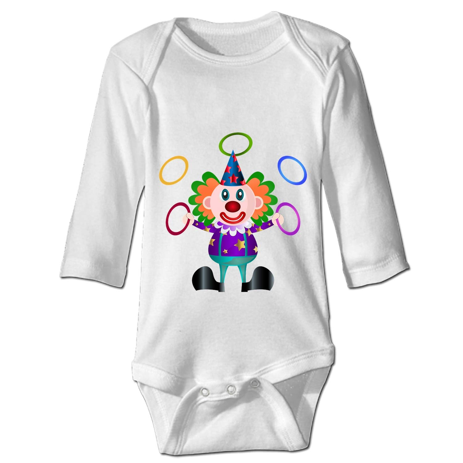 XASFF Funny Chinchilla Bodysuit for Baby Long-Sleeve Infant Onesies