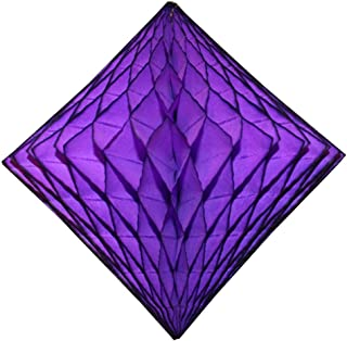 product image for 3-Pack 12 Inch Purple Honeycomb Diamond Decorations