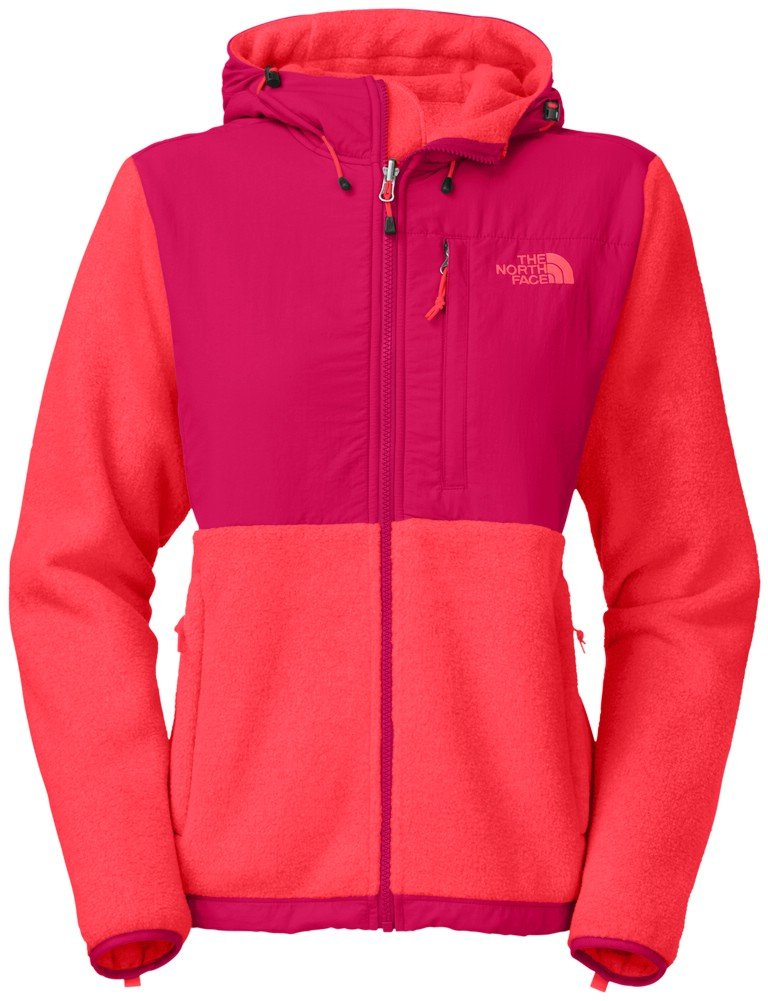 The North Face Denali Hoodie Women's Recycled Rambutan Pink/Cerise Pink S