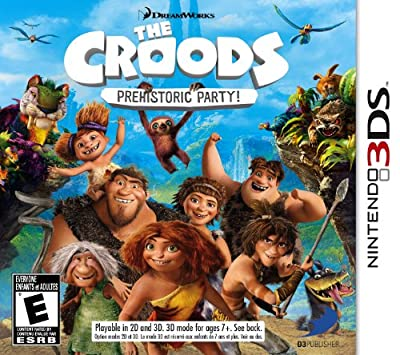 The Croods Prehistoric Party by D3 Publisher