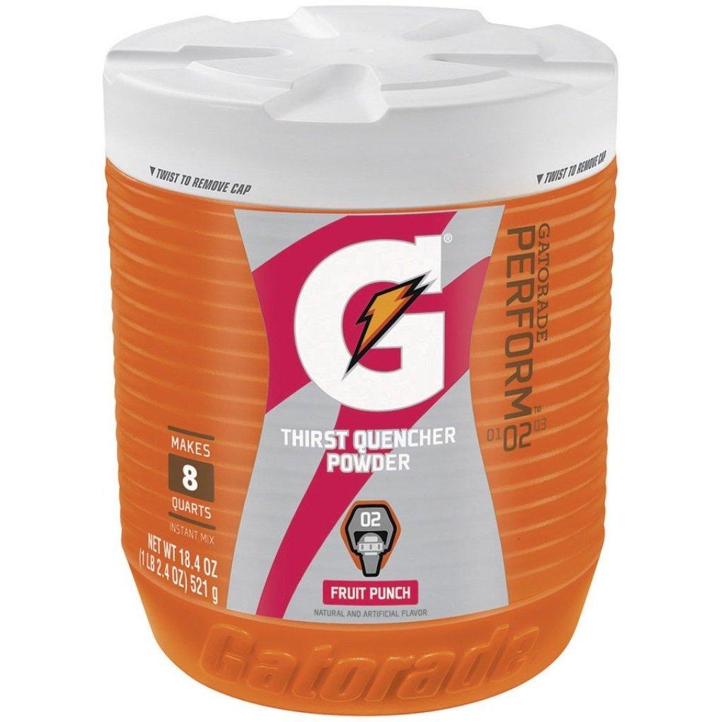 Gatorade Perform 02 Fruit Punch Powder-18.4 Oz 2