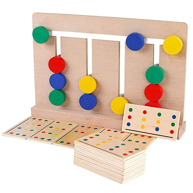 GreatWall Montessori - Juego de Mesa de Aprendizaje (Madera ...